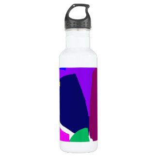 Dark Morning Breakfast Power Dependable 24oz Water Bottle