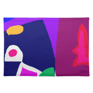 Dark Morning Breakfast Power Dependable Cloth Placemat