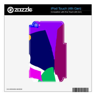 Dark Morning Breakfast Power Dependable Skin For iPod Touch 4G