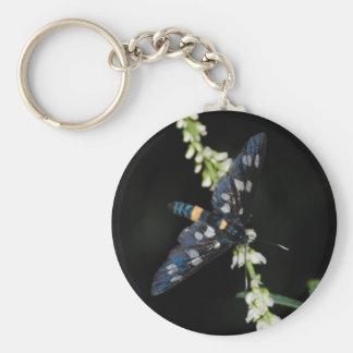 dark moth keychain