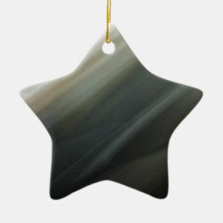 Dark motion blur pattern ceramic ornament