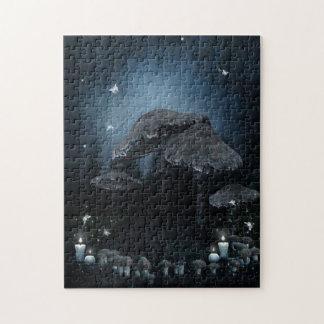 Dark Mushroom Ring Puzzle