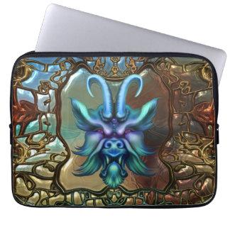 Dark Myth Gargoyle Fantasy Laptop Sleeve