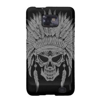 Dark Native Skull Samsung Galaxy Covers