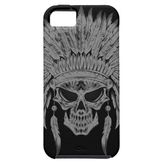 Dark Native Skull iPhone SE/5/5s Case