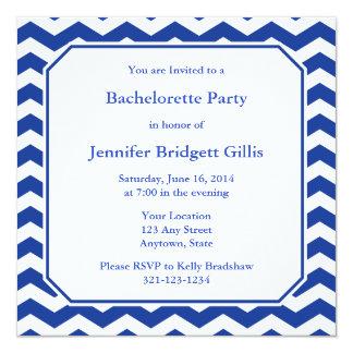 Dark Navy Blue Square Invitations & Announcements