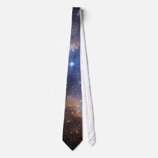 Dark Nebula and Stars Photo Template Neck Tie