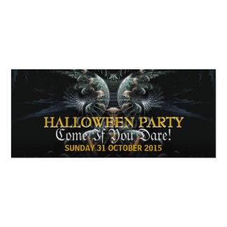 Dark Night Angel Halloween Party Invitation