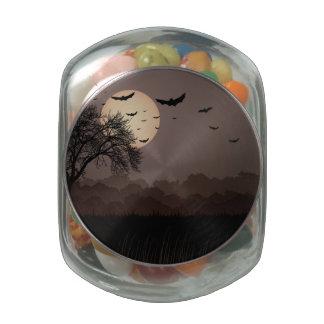 Dark Night Glass Jars