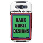Dark Noble Galaxy S3 Phone Case Samsung Galaxy S3 Cover