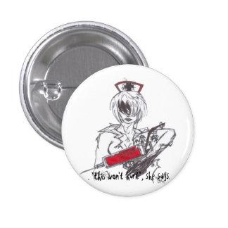 darK nurse Pinback Button