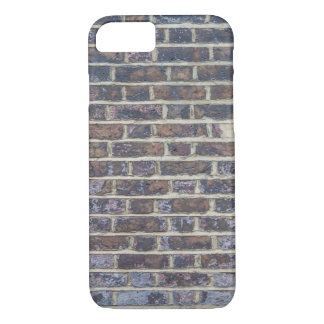 Dark old brick wall texture iPhone 8/7 case