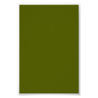 Dark Olive Green Background on a Poster