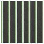 [ Thumbnail: Dark Olive Green, Green, White & Black Colored Fabric ]