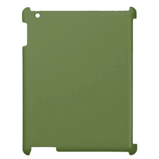 Dark Olive Green Case For The iPad 2 3 4