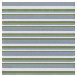 [ Thumbnail: Dark Olive Green, Lavender & Light Slate Gray Fabric ]