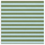 [ Thumbnail: Dark Olive Green & Powder Blue Colored Lines Fabric ]