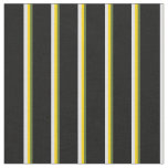 [ Thumbnail: Dark Olive Green, Yellow, Lavender & Black Lines Fabric ]