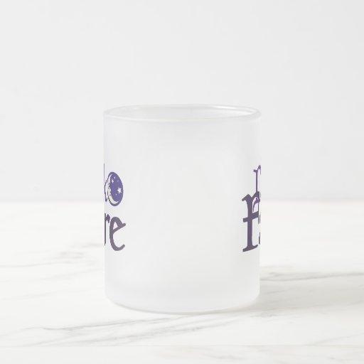 Dark [Opposite of Sun] Faire Coffee Mugs