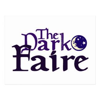 Dark [Opposite of Sun] Faire Postcard
