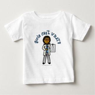 Dark Optometrist Girl Baby T-Shirt