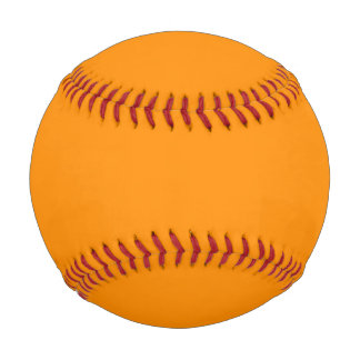Dark Orange Baseball
