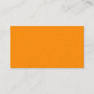 Dark Orange Premium Business Card