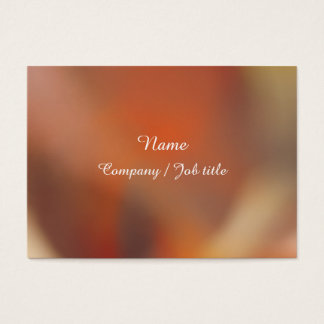 Dark Orange Sweet Abstract Paint  Reasonable Business Card