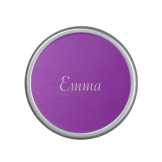 Dark Orchid Personalized Speaker