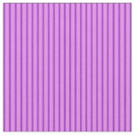 [ Thumbnail: Dark Orchid & Violet Colored Lines Pattern Fabric ]
