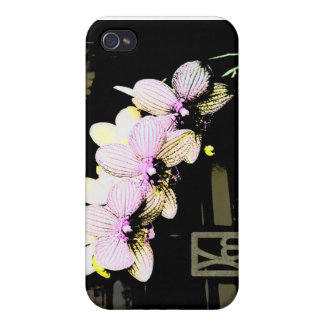 Dark Orchids - Hard Shell Case for iPhone 4/4S