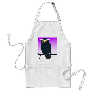 Dark Owl Adult Apron