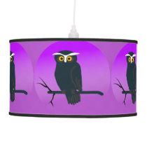 Dark Owl Ceiling Lamp