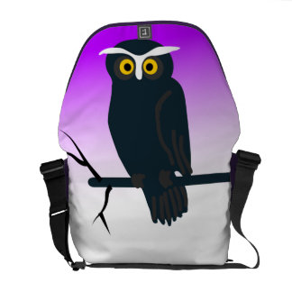 Dark Owl Courier Bag