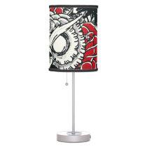 Dark Owl desk lamp