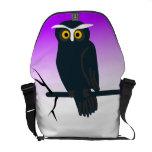 Dark Owl Messenger Bags