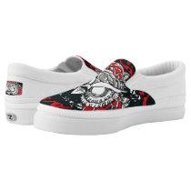 Dark Owl slip on shoes