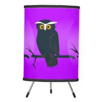 Dark Owl Tripod Lamp