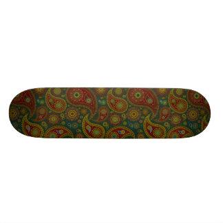 Dark Paisley Skate Boards