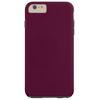 DARK PANSY PURPLE (solid color) ~ Tough iPhone 6 Plus Case