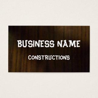Dark Parquet Business Card
