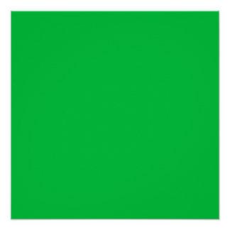 Dark Pastel Green Poster