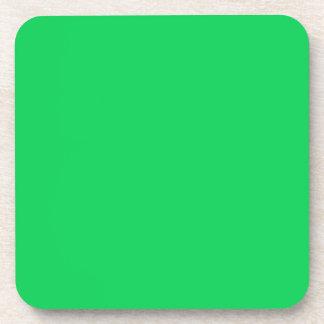 DARK PASTEL GREEN (solid color) ~ Beverage Coaster