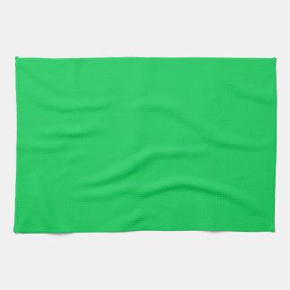 DARK PASTEL GREEN (solid color) ~ Hand Towels
