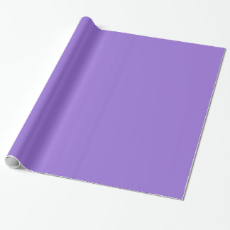 Dark Pastel Purple Gift Wrapping Paper
