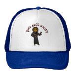 Dark Pastor Girl Mesh Hat