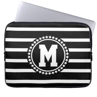 Dark Patriot Monogrammed Laptop Sleeve