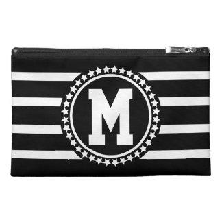 Dark Patriot Monogrammed Travel Accessory Bags
