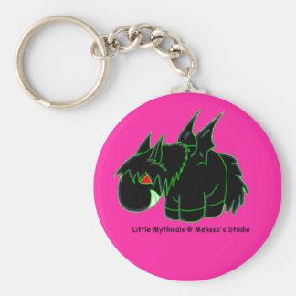 Dark Pegasus Keychain (pink)