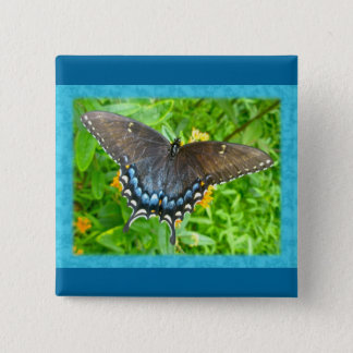 Dark Phase Tiger Swallowtail Butterfly Items Button